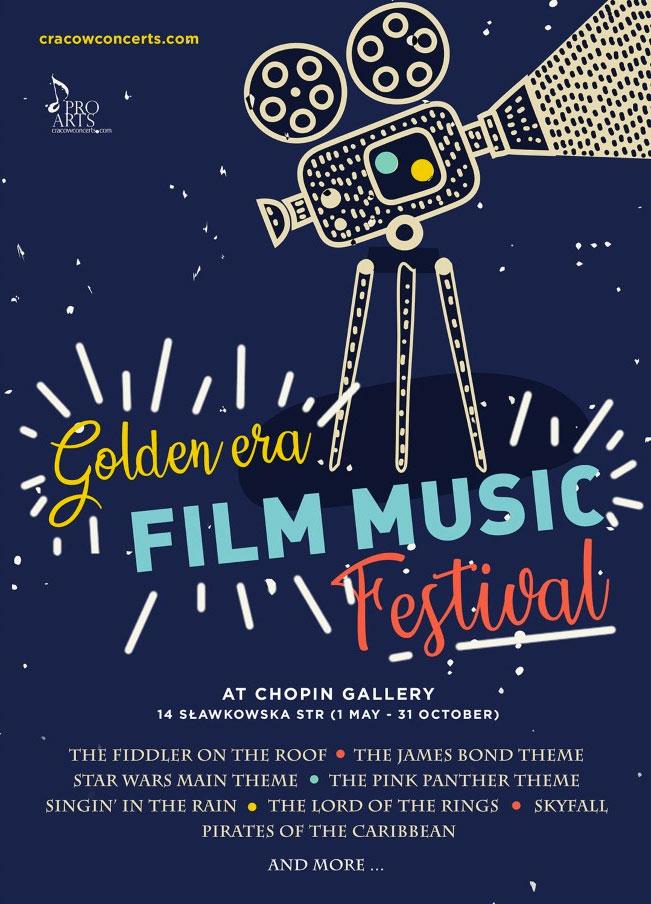 Golden Era Film Music Festival – Cracow Concerts